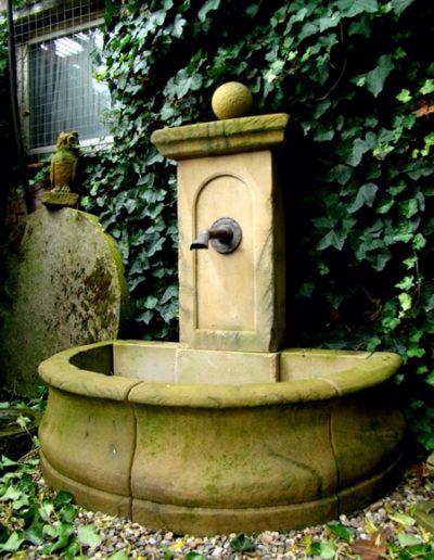 Pfälzer Brunnen Werkstatt Bassinbrunnen No.7