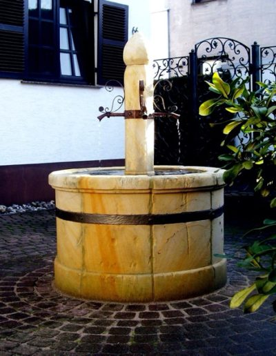 Pfälzer Brunnen Werkstatt Dorfbrunnen No.10