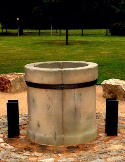 Pfälzer Brunnen Werkstatt Dorfbrunnen No.4