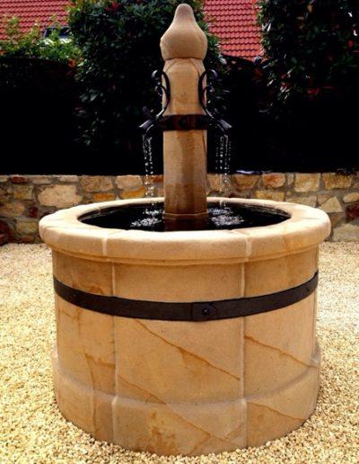 Pfälzer Brunnen Werkstatt Dorfbrunnen No.5