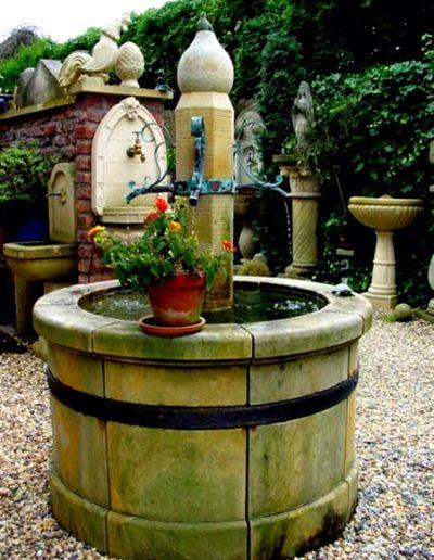 Pfälzer Brunnen Werkstatt Dorfbrunnen No.7
