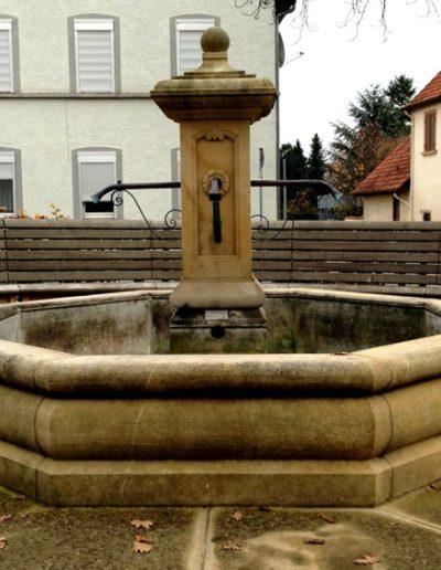 Pfälzer Brunnen Werkstatt Marktbrunnen No.12
