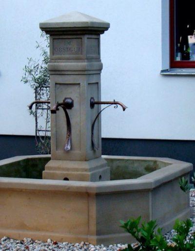 Pfälzer Brunnen Werkstatt Marktbrunnen No.8