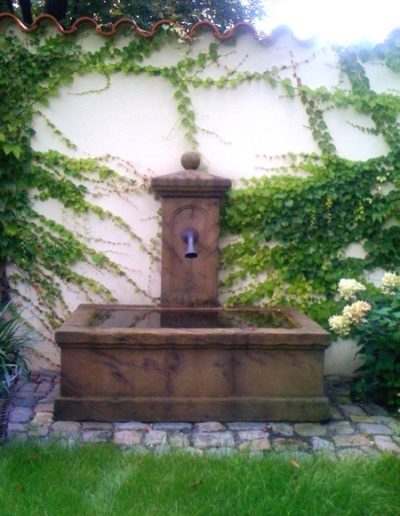 Pfälzer Brunnen Werkstatt Trogbrunnen No.11