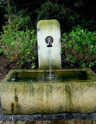 Pfälzer Brunnen Werkstatt Trogbrunnen No.14
