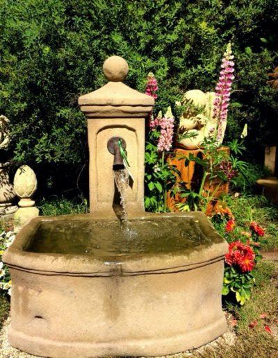 Pfälzer Brunnen Werkstatt Trogbrunnen No.2