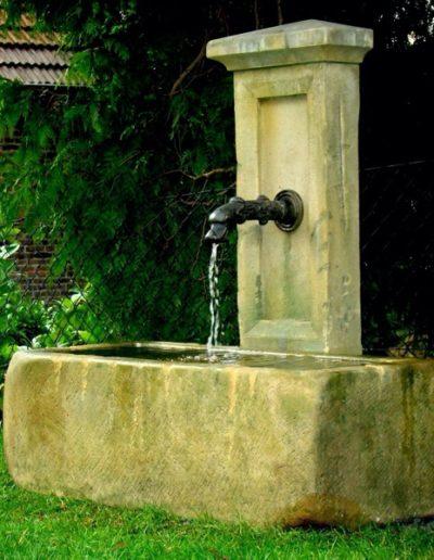Pfälzer Brunnen Werkstatt Trogbrunnen No.20