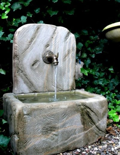 Pfälzer Brunnen Werkstatt Trogbrunnen No.30
