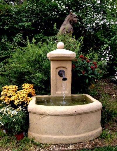 Pfälzer Brunnen Werkstatt Trogbrunnen No.37