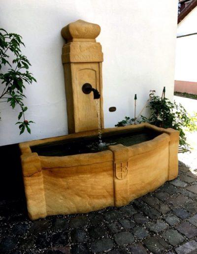 Pfälzer Brunnen Werkstatt Trogbrunnen No.45