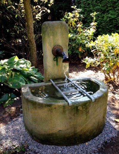 Pfälzer Brunnen Werkstatt Trogbrunnen No.7