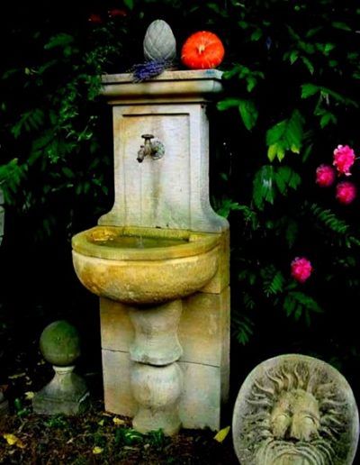 Pfälzer Brunnen Werkstatt Wandbrunnen No.4