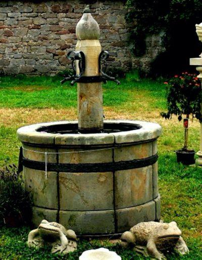 Pfälzer Brunnen Werkstatt antike Brunnen No.13