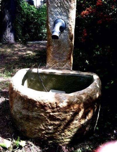 Pfälzer Brunnen Werkstatt antike Brunnen No.27