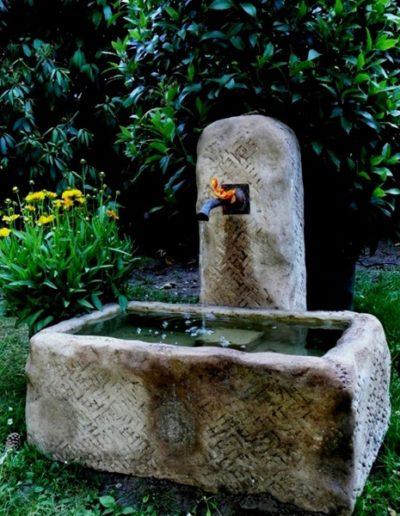 Pfälzer Brunnen Werkstatt antike Brunnen No.3