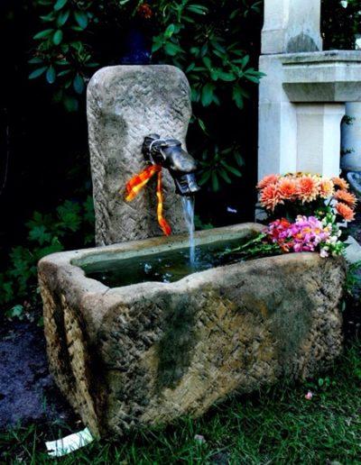 Pfälzer Brunnen Werkstatt antike Brunnen No.7