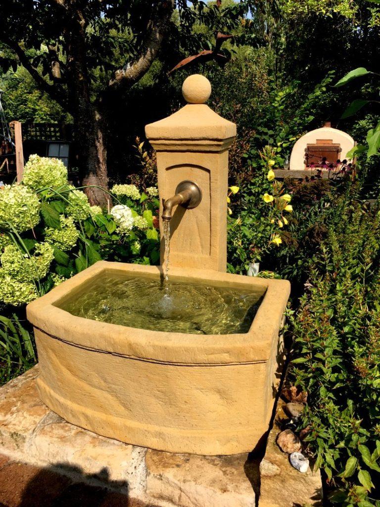 Unsere Brunnen In Ihren Gärten